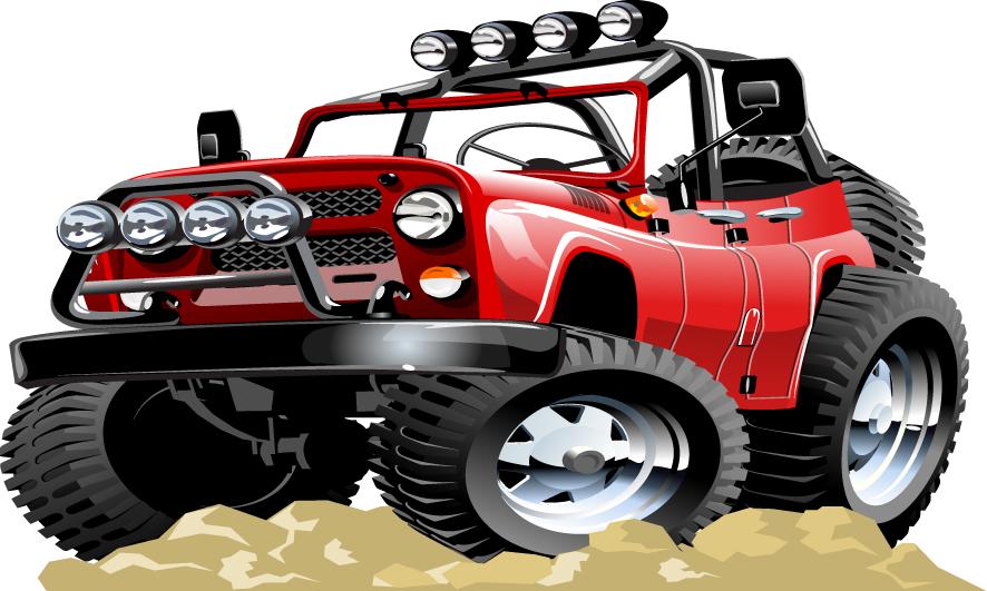 Naklejka Dla Dzieci Auto Auta Jeep Pojazdy 59 Naklejkolandia