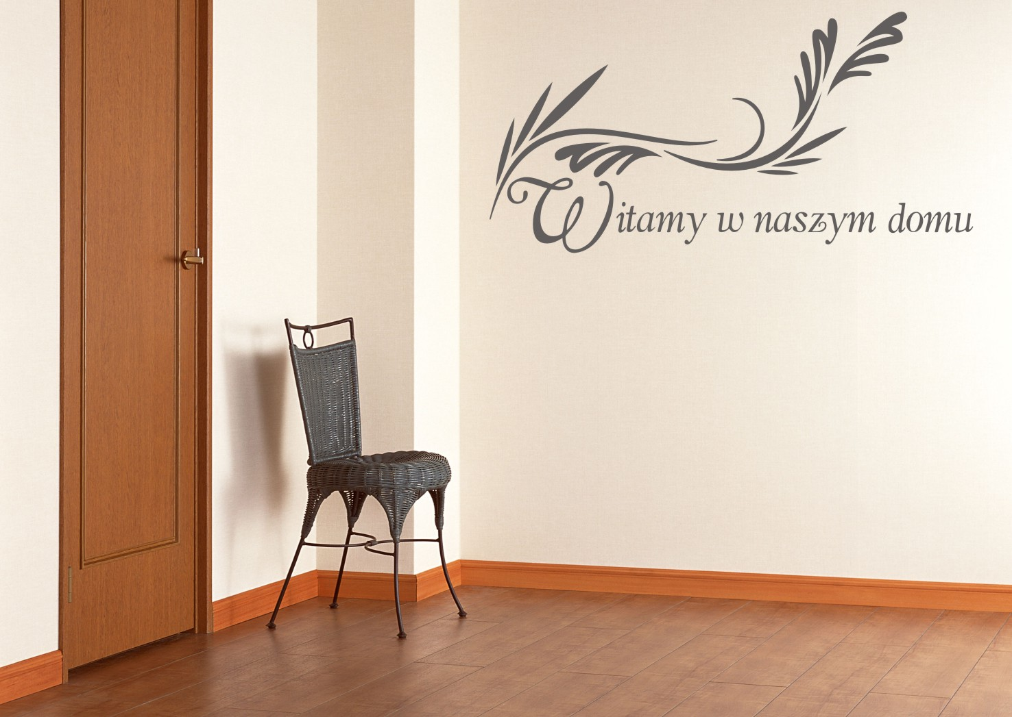 Napis Na ścianę Naklejka Witamy W Naszym Domu 233 Naklejkolandia