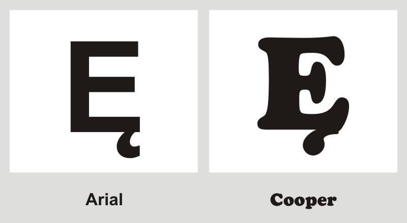 Litera Ę - litera samoprzylepn...