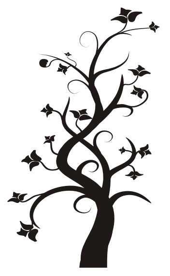 magiczne drzewko 31 welur naklejkolandia. Black Bedroom Furniture Sets. Home Design Ideas