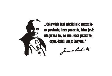 Napis Na ścianę Naklejka Papież Jan Paweł Ii 76